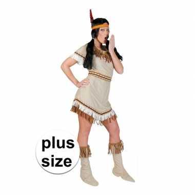 Grote maten indiaan alawa verkleed jurkje voor dames