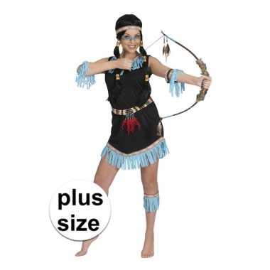 Grote maten indiaan amadahy verkleed jurkje voor dames