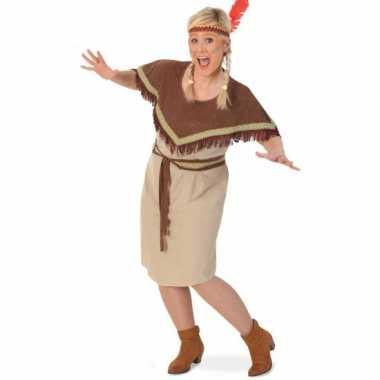 Grote maten indiaanse jurk voor dames