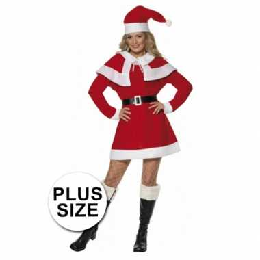 1c9c03e3704616 Kerstjurk dames rood grote maten