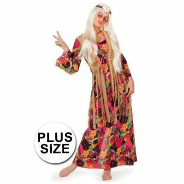 Lange hippie jurk grote maten